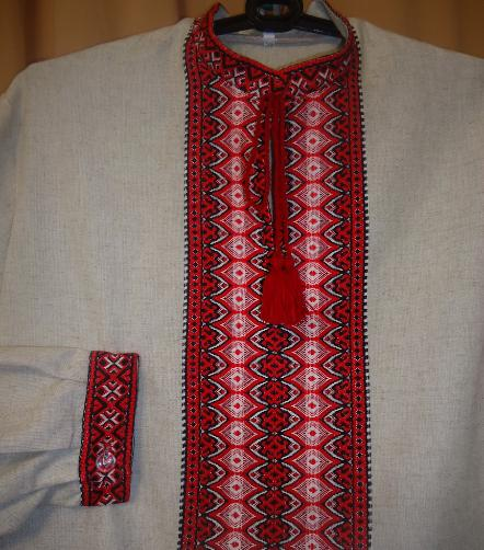 t Shirt Costumes Men Mens Ukrainian Shirt Woven